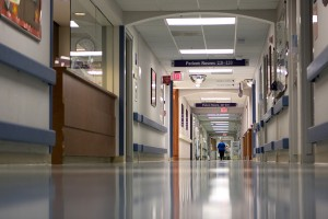 Legionella Control in Hospitals and Health Care premises - Hospital Hallway