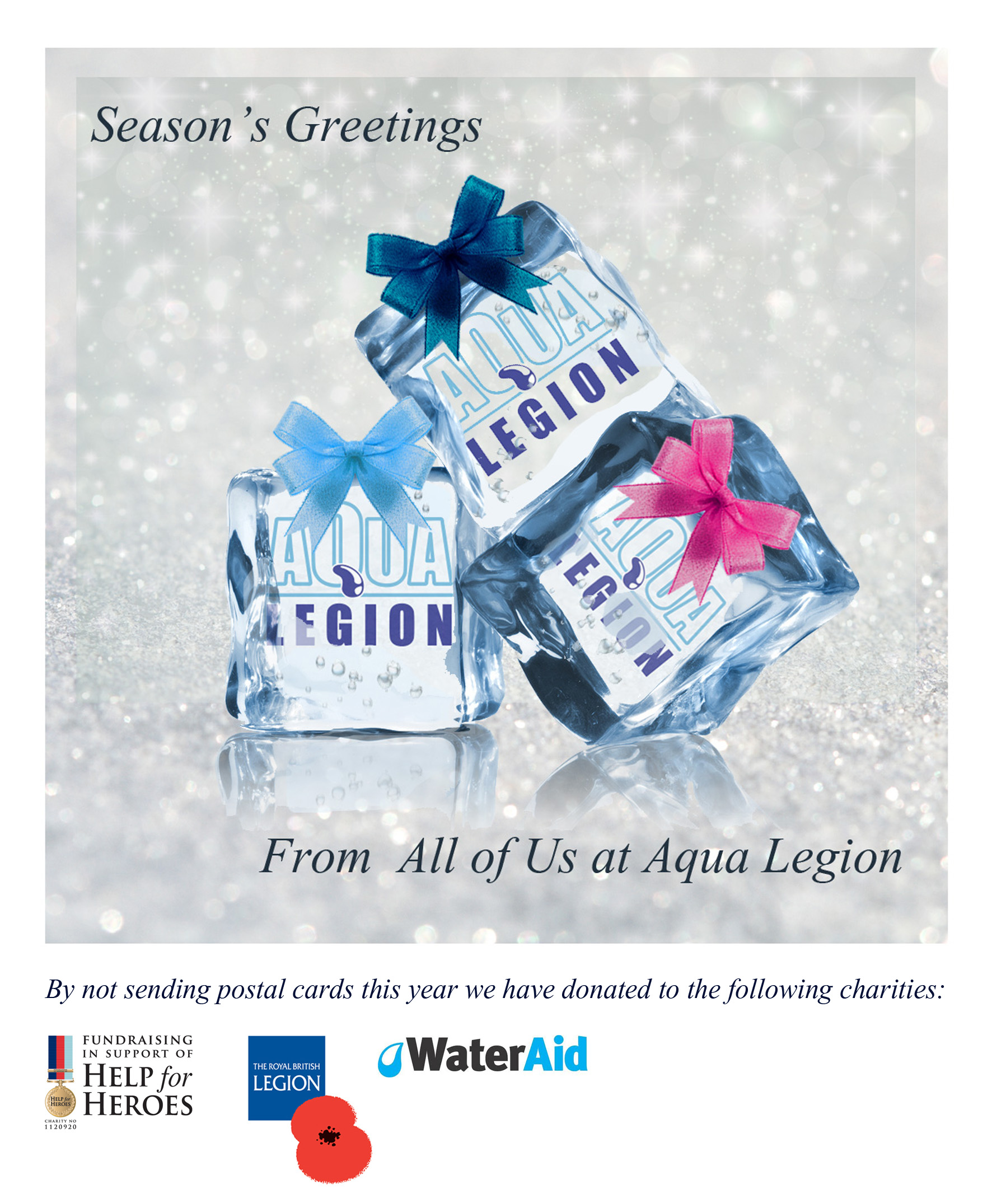 Seasons Greetings from the UK Leading Legionella Company