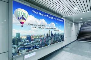 Legionella Risk Assessment Specialist underground advertisement