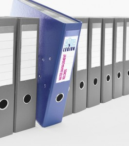 Legionella log book and legionella records water testing records