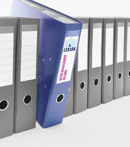 Legionella Control Water Management Log Book – Generic