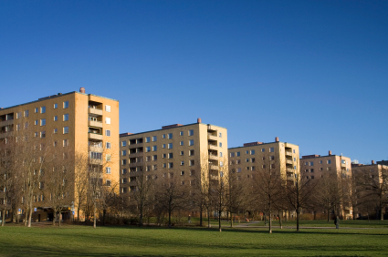 Legionella in social residential housing and property